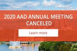 AAD Cancels Annual Meeting