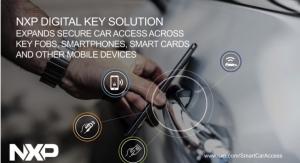 NXP Digital Key Solution Expands Secure Car Access