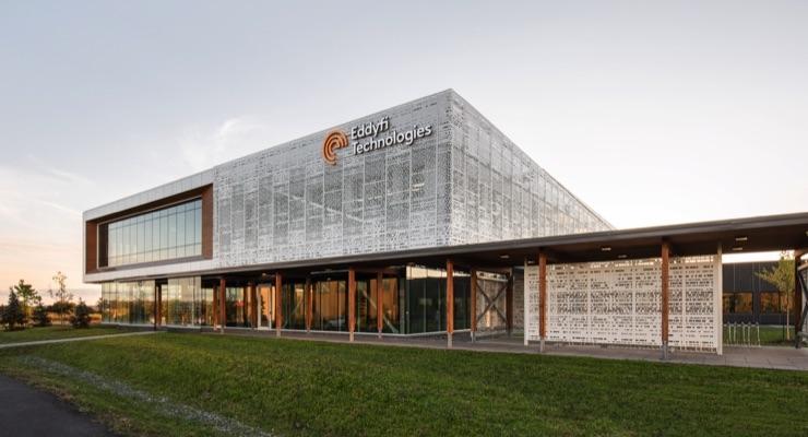 PPG Case Study: Eddyfi Technologies World HQ Building, Quebec City, Canada
