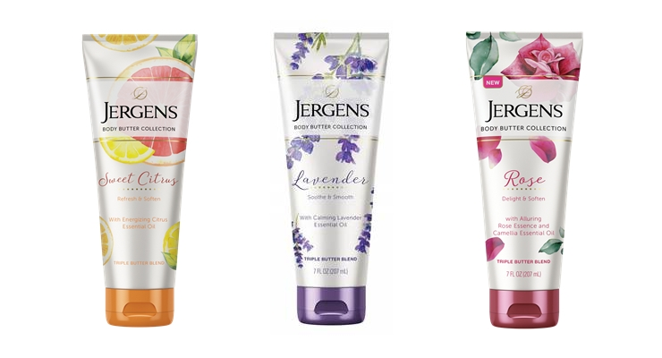Jergens Debuts Body Butters