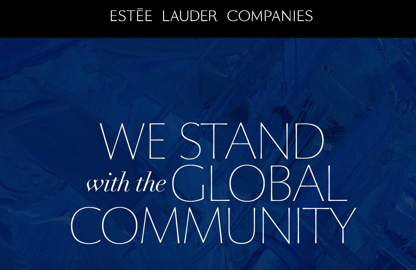 Estée Lauder To Produce Hand Sanitizer