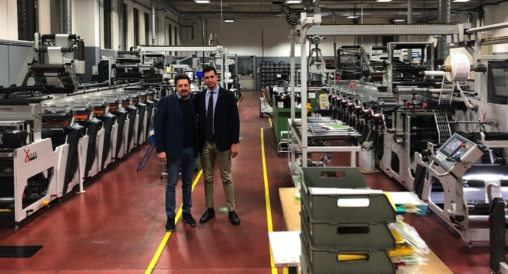 Omet assists pharmaceutical label converter