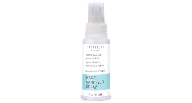Sparitual Launches Sanitizer Spray