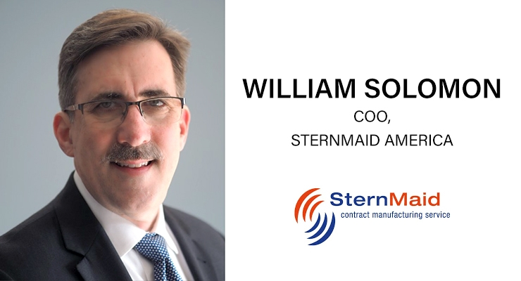 An Interview with William Solomon, COO, SternMaid America