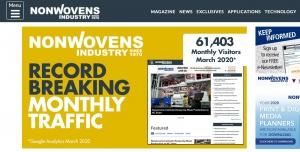 Nonwovens-Industry.com Traffic Soars
