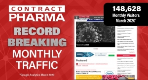 Contract Pharma Highlights Record Breaking Month