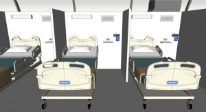 PPG, DuraPaint Providing Bed Dividers at Canadian Hospital Pop-up
