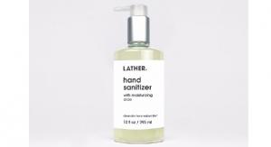 Lather Debuts Hand Sanitizer Gel