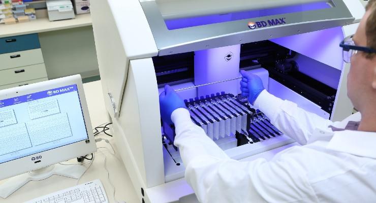 BD Gains Second EUA for CE-Marked Molecular Diagnostic Test