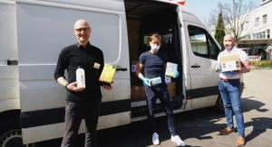 Marabu Mobilizes to Produce Sanitizers for Community
