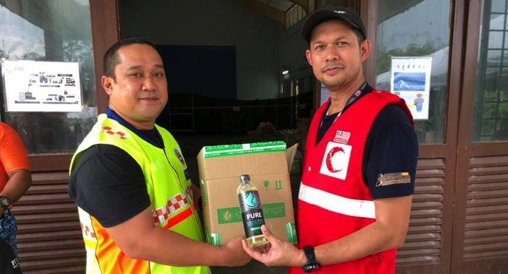 IGL Coatings Donates ecoclean Sanitizer to Police, Red Cross