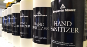 Benjamin Moore Supports NJ Orgs, Manufactures Hand Sanitizer