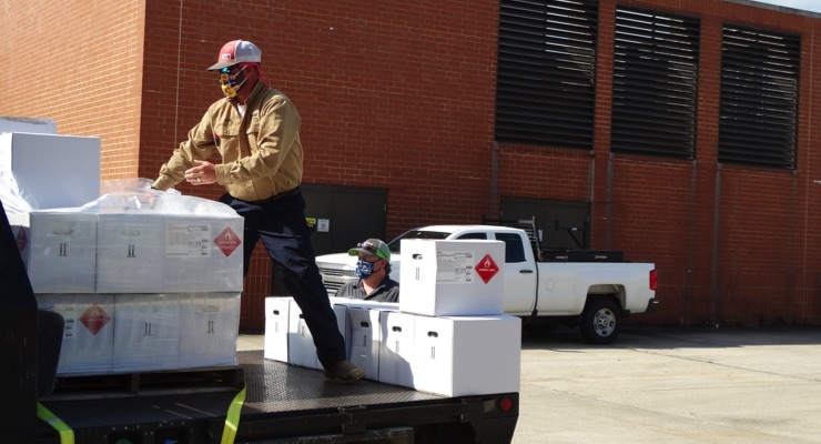 BASF Donates 1,100 Gallons of Hand Sanitizer to Fight COVID-19 in Texas