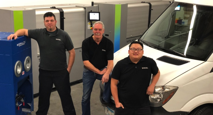 Eaglewood Technologies scheduling on-site cleaning