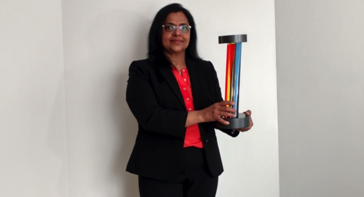 Ashland's Zeena Cherian Receives 2020 American Coatings Award