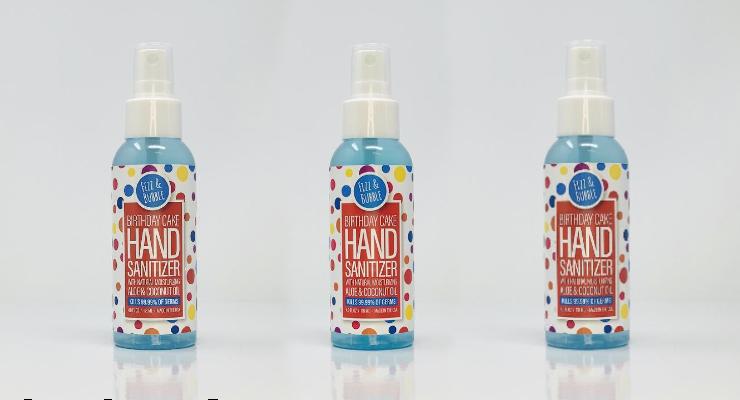 Fizz & Bubble Unveils Sanitizers