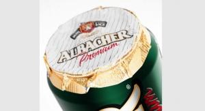 Multi-Color designs can lid label for Albacher