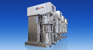 ROSS Offers Reverse-lift Double Planetary Mixers with Elaborate CIP, Purged Controls