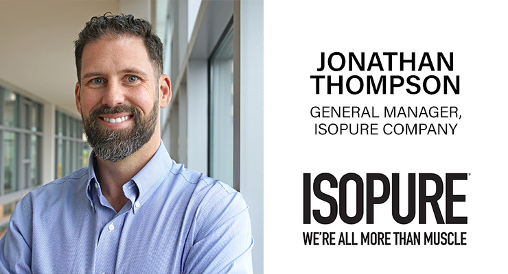An Interview with Jonathan Thompson, General Manager, Isopure Company