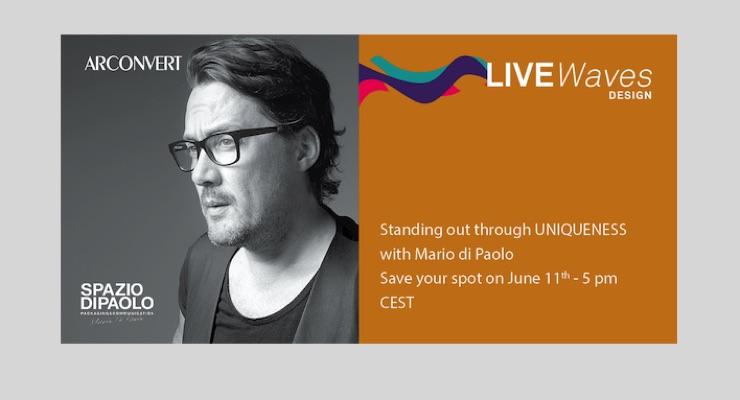 Arconvert hosting webinar with Mario di Paolo