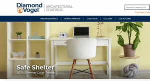 Diamond Vogel Launches Update to Architectural Coatings Website
