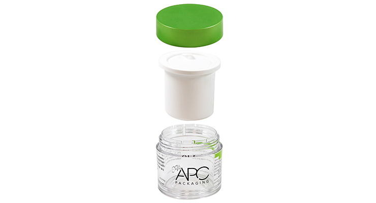 APC Packaging Launches Refillable Jar