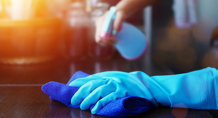 Safe Cleaning & Disinfecting