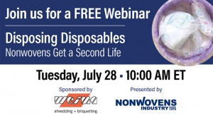 Disposing Disposables—Nonwovens Get a Second Life