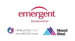 Mount Sinai, Emergent, and ImmunoTek Form Collaboration