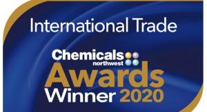 Bitrez Ltd Wins Chemicals Northwest International Trade Award 2020