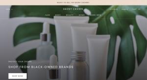 Ebony Crown Targets Black Beauty & Hair