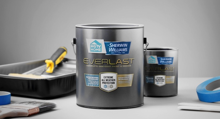 HGTV HOME by Sherwin-Williams Announces Everlast Exterior Paint, Primer