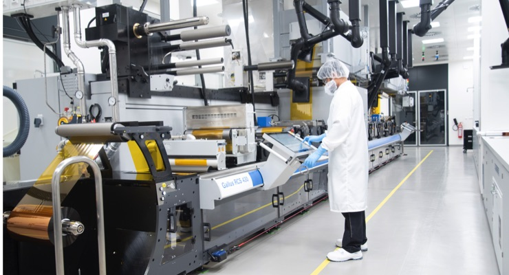 Heidelberg Invests in Production of Printed, Organic Electronics