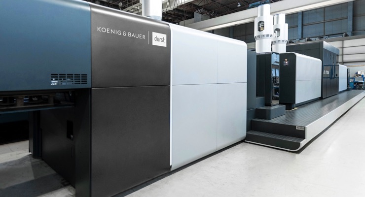 Koenig & Bauer Durst announce beta testing for VariJET 106