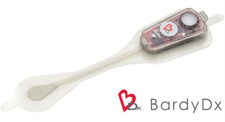 Bardy Diagnostics Receives CE Mark for 14-Day CAM Patch