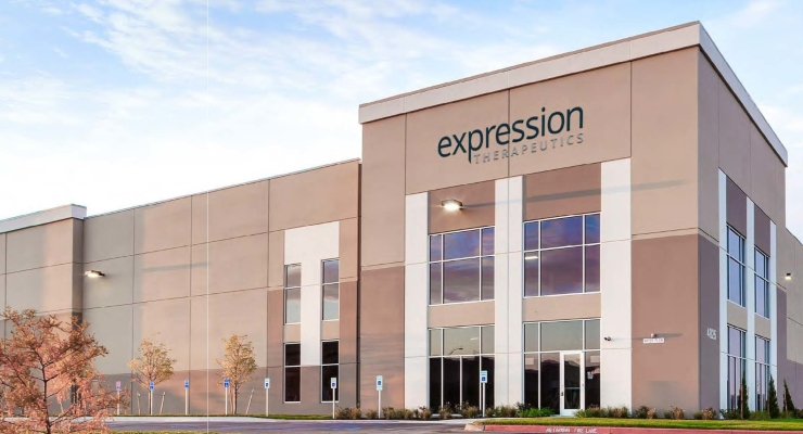 Expression Therapeutics Names New VP of Manufacturing