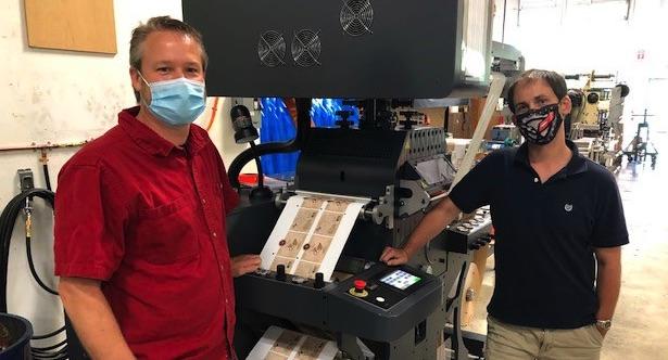 Craftsman Label installs GM hot foil unit