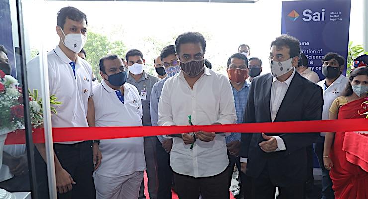 CDMO Sai Life Sciences Opens New Facility