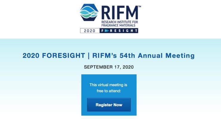 A Virtual RIFM Annual Meeting