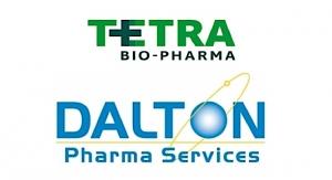 Tetra Bio-Pharma and Dalton Pharma Enter GMP Manufacturing Tie-up
