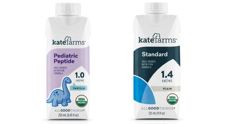 Kate Farms Launches Two New Plant-Based Healthcare Formulas