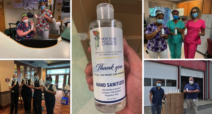NYSCC Hand Sanitizer Donations Top 8,000