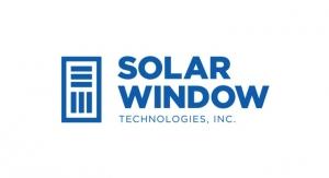 Largest Ever SolarWindow Generating Electricity