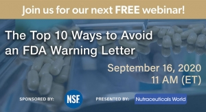 The Top 10 Ways to Avoid an FDA Warning Letter