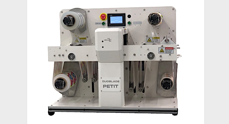 Valloy debuts new digital label finisher