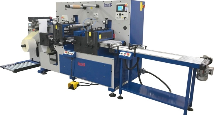 A4 Labels adds second Daco D350S sheet label converter