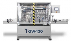 FGW120 The world's most advanced round wipes wetting and portioning machine