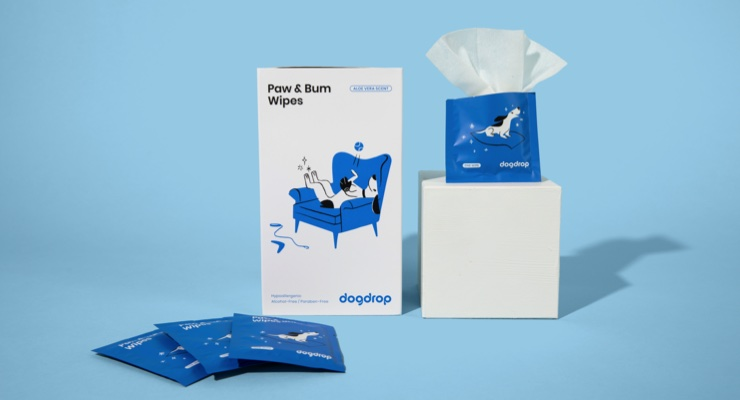 Dog Wipes Launch