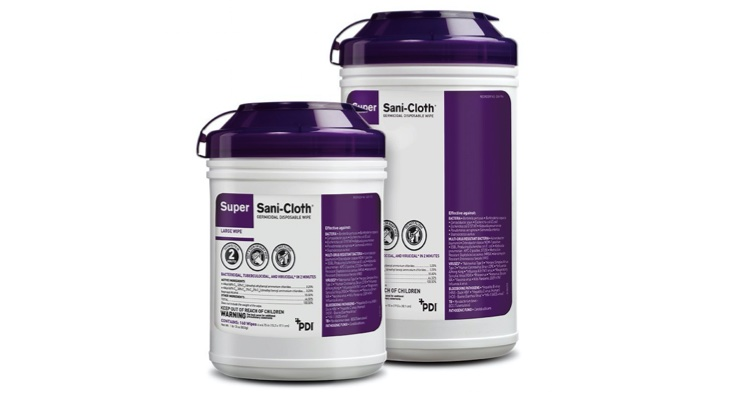 PDI Super Sani-Cloth Wipes Proven Effective Against SARS-CoV-2