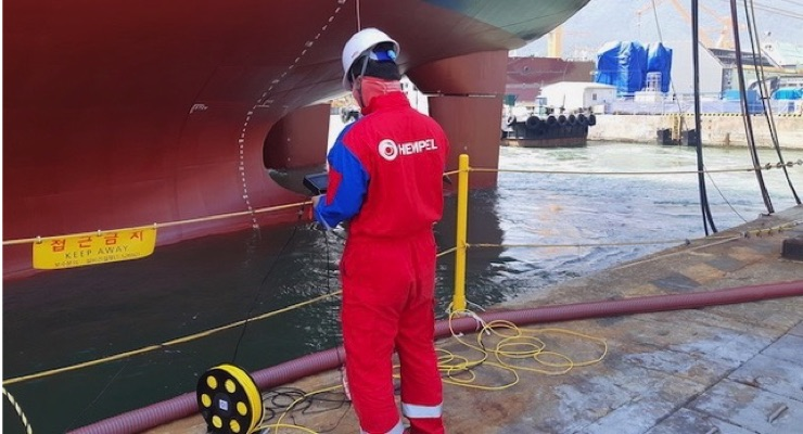 Hempel Launches Underwater Hull Inspections